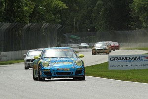 Grand-Am Race report Rum Bum Racing fights for podium finish at Kansas