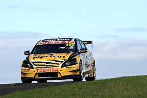James Moffat scores first breakthrough for Nissan