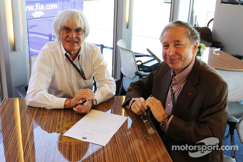 New Jersey 'mess' not on 2014 calendar - Ecclestone