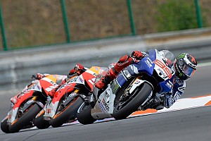 MotoGP Race report Lorenzo battles for Brno podium