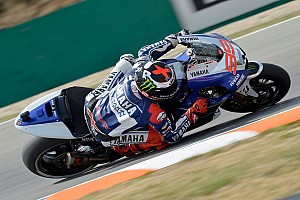 Yamaha prepare for the British Grand Prix