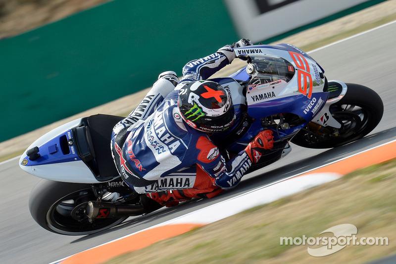 Yamaha prepare for the British Grand Prix