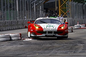 Sweedler and Bell to start AJR Ferrari from sixth row in Baltimore