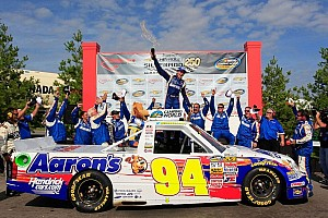 NASCAR Truck Race report Chase Elliott gets maiden win in series first visit to Canada