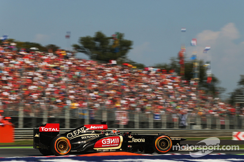 Disappointing qualifying session for Lotus at Monza