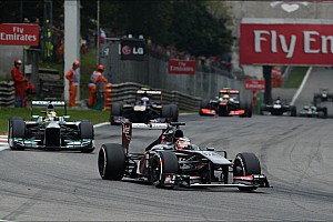 Formula 1 Race report Monza: 2013 best result so far for Sauber