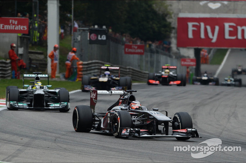 Monza: 2013 best result so far for Sauber