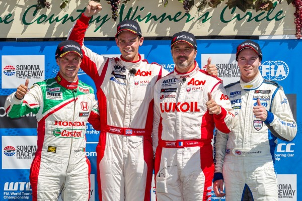 Chilton, Tarquini take the victories at Sonoma