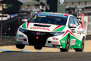 WTCC Race report Tarquini victory seals world championship title for Honda Civic