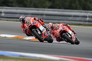 MotoGP Practice report Dovizioso eighth, Hayden twelfth in Misano Free Practice