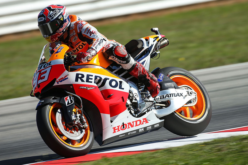 Bridgestone: New lap record set as Marquez dominates Misano qualifying