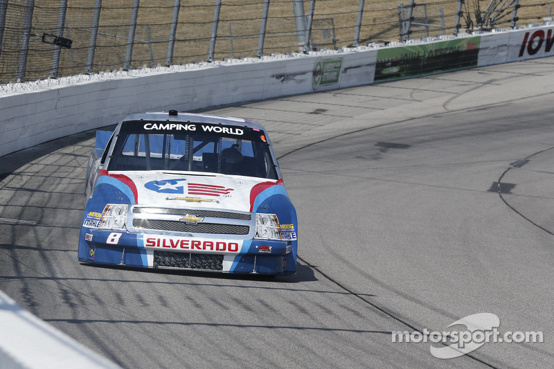 Gresham and the finish 19th at Chicagoland Speedway