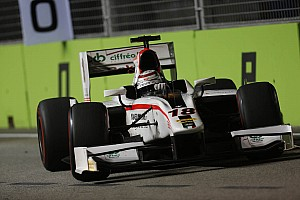 GP2 Race report Coletti ended close to the points in Singapore's Main race