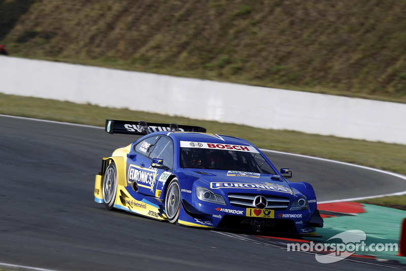 Gary Paffett best-placed Mercedes-Benz driver in Zandvoort
