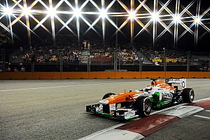 Formula 1 Preview Sahara Force India gets set for the Korean Grand Prix