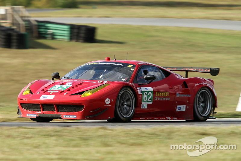 Risi claim front row GT qualifying spot at VIR