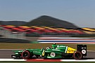 Caterham F1 Team on qualifying round at Korea