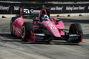 IndyCar Breaking news Franchitti injuries include a spinal fracture