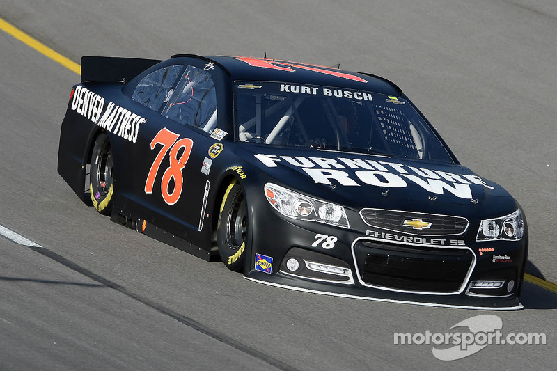 Busch finishes 2nd with impressive performance in backup car