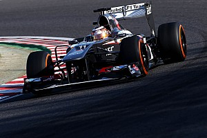 Improvement for Sauber team in practice session at Suzuka