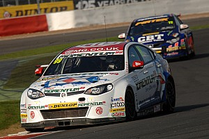BTCC Race report Plato takes pole as Neal crashes out at Brands Hatch