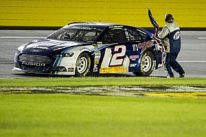 NASCAR Sprint Cup Race report Brad Keselowski wins at Charlotte