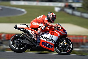 MotoGP Qualifying report Row three for Ducati Team at Phillip Island