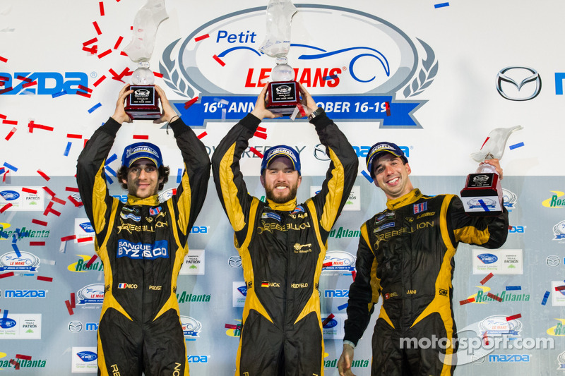 Rebellion Racing repeats at Petit Le Mans, captures ALMS finale
