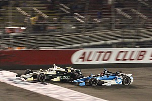 Ed Carpenter nearly wins back-to-back MAVTV 500 titles Saturday
