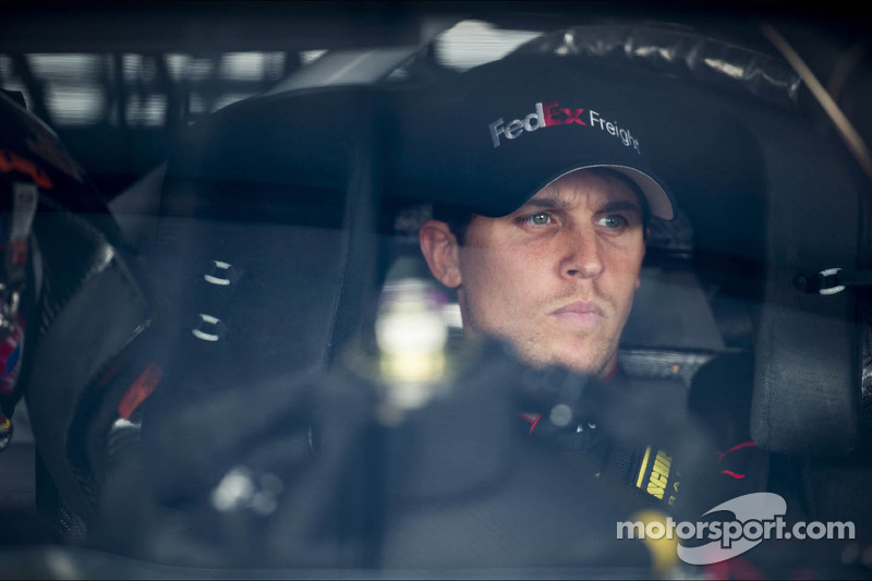 Denny Hamlin shooting for a three-peat