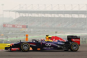 Red Bull Racing drivers Friday at Buddh