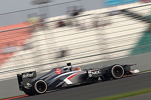 Mixed feelings for Sauber team after qualifying round at India