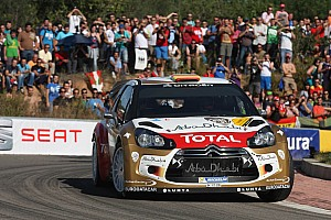 Dani Sordo moves into position in Day 1, Spain