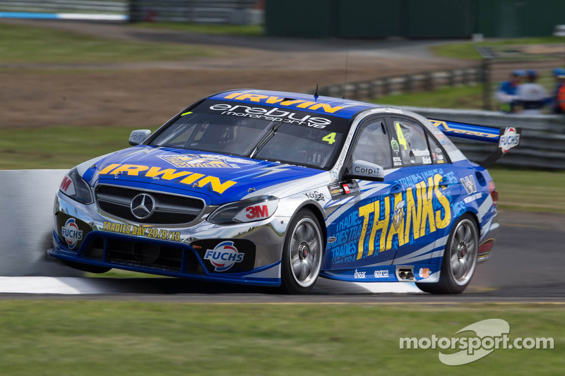 IRWIN Racing posts a high-five on the Gold Coast
