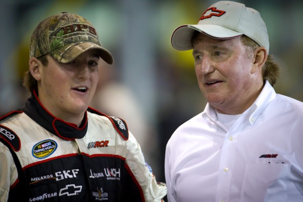 Harvick apologizes, Childress responds