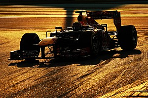 Infiniti Red Bull Racing drivers ahead of Abu Dhabi GP