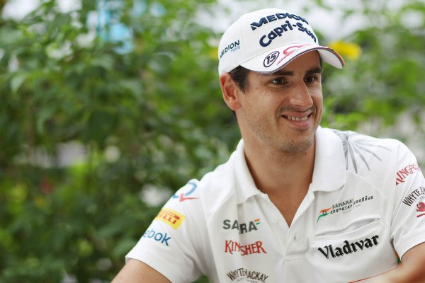 Sutil smiles as 2014 seat now secure