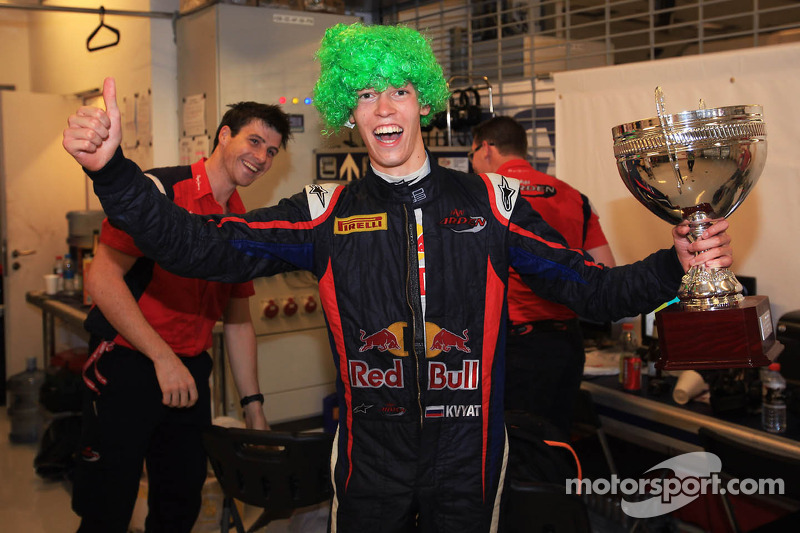 Newly crowned champion Daniil Kvyat expresses his thoughts