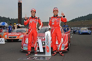 Super GT Race report Season titles go to Zent Cerumo SC430 and Mugen CR-Z GT at the Twin Ring Motegi