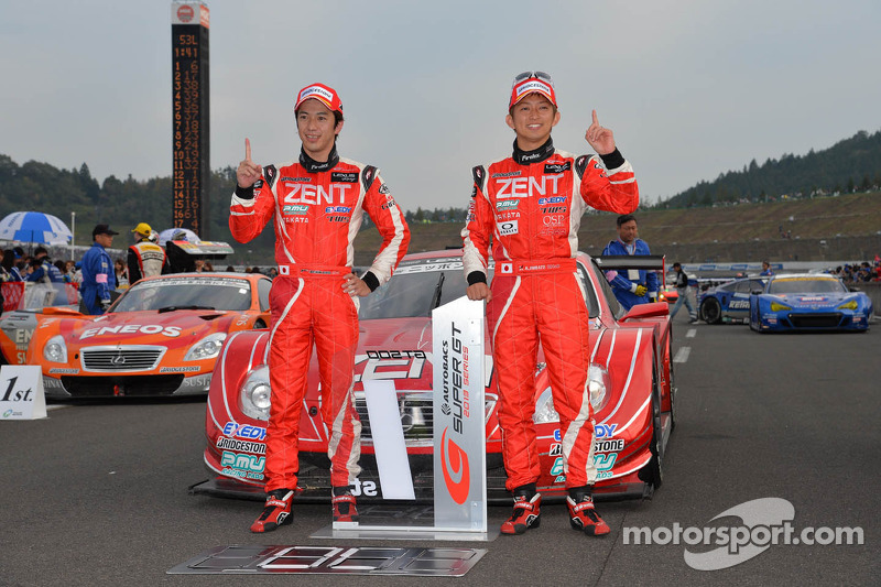 Season titles go to Zent Cerumo SC430 and Mugen CR-Z GT at the Twin Ring Motegi