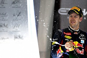 Formula 1 Race report Infiniti Red Bull Racing claims a one two finish at Abu Dhabi and it's 100th podium