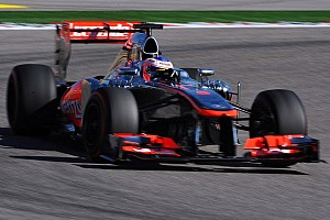 Button handed three-place grid penalty in Austin