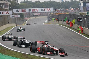Formula 1 Race report McLaren performed in São Paulo its best grand prix of the year