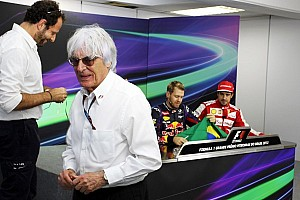 Formula 1 Breaking news Ecclestone still thinks V6 switch bad idea