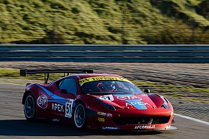 Dhillon and Scott in the British GT 2014 with AF Corse