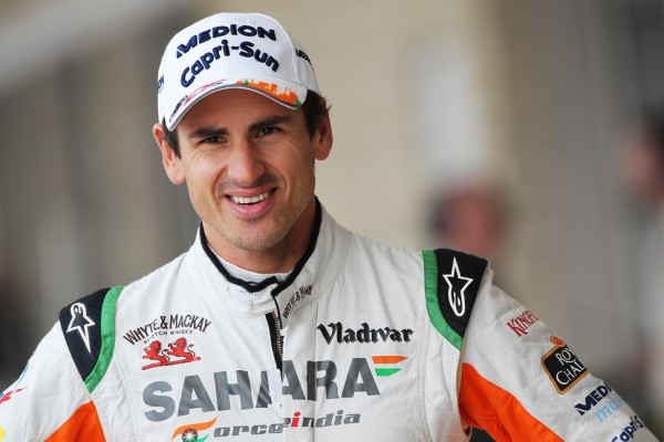 Sutil has seat fitting in 2014 Sauber