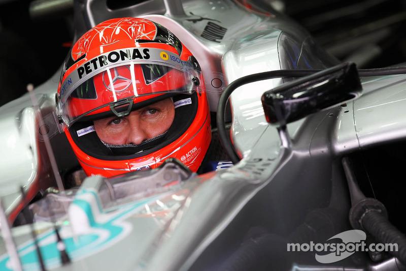 Mercedes F1 Team statement on Michael Schumacher