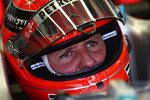 Formula 1 Breaking news Schumacher still in critical but stable condition - was wearing helmet camera