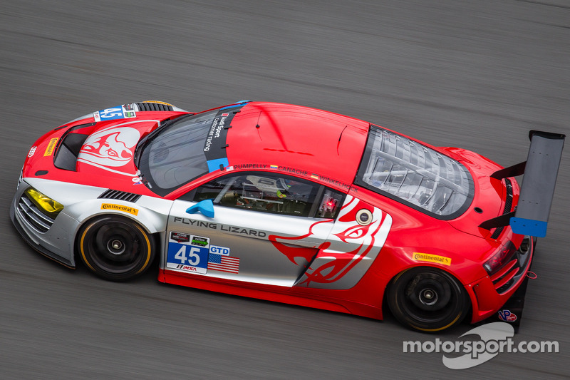 Three-day Roar Before the Rolex 24 concluded successfully for the Audi teams at Daytona