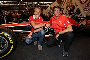 Formula 1 Breaking news Max Chilton re-signs with Marussia for second season